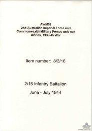 AWM52, 8/3/16/32 - Australian War Memorial
