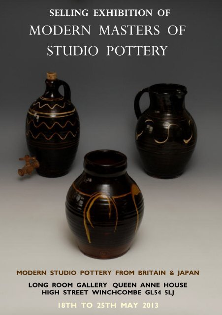 see May 2013 show catalogue - Long Room Gallery