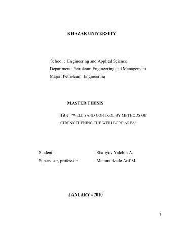 MASTER THESIS.pdf - DSpace at Khazar University