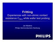 Fritting - Semiconductor Wafer Test Workshop