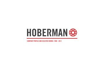 Download Portfolio PDF - Hoberman