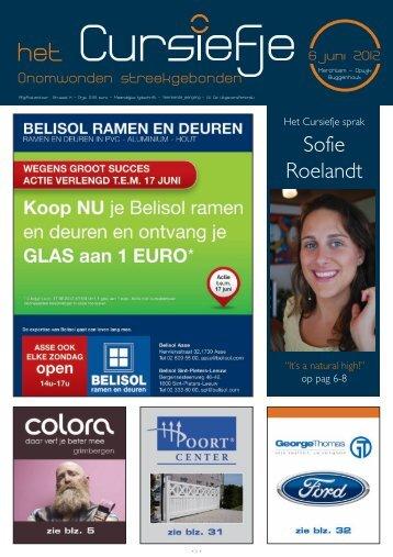 Sofie Roelandt - Cursiefje