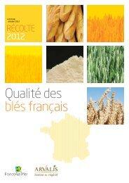 Qualité des blés français récolte 2012 - Direction régionale de l ...