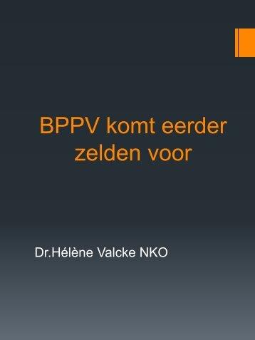 Positionele vertigo: BPPV eerder zeldzaam - Monica