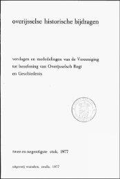 Handelsbetrekkingen tussen Kampen en de Drentse adel in het ...