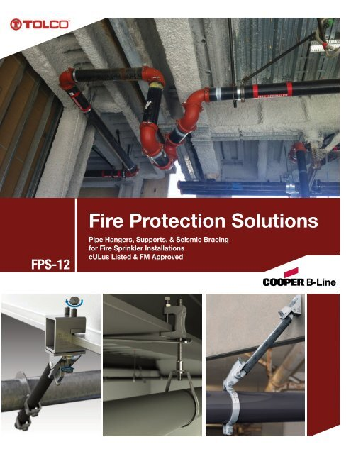 Cooper B-Line - Fire Protection Solutions (FPS-12) - Cooper Industries