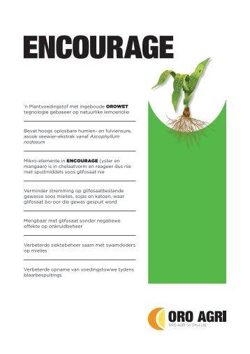 2012.07.30 - ENCOURAGE FACT FILE.indd - ORO Agri