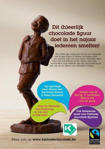 Dit (h)eerlijk chocolade figuur doet in het najaar iedereen smelten!