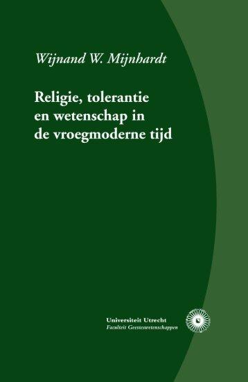 Religie, tolerantie en wetenschap in de vroegmoderne tijd