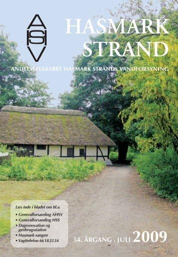 Hasmark Strand 2009 - Andelsselskabet Hasmark Strands ...