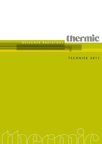 DESIGNER RADIATORS TECHNIEK 2011 - Thermic