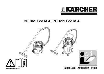 NT 361 Eco M A / NT 611 Eco M A - Kärcher