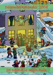 Decemberkalender 2008 De wereld is mijn huis - Kinderdienst