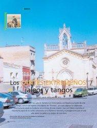 Cantes extremeños: jaleos y tangos - Caja de Badajoz