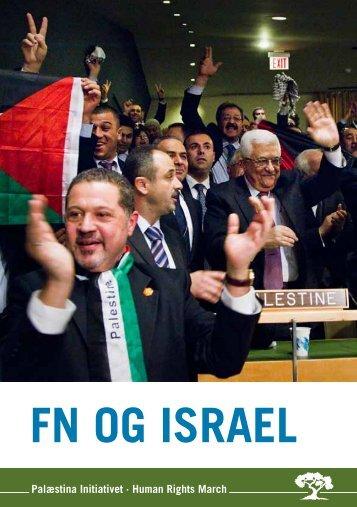 FN og ISRAEL - palaestina-initiativet.dk