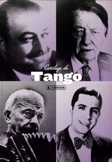 Catálogo de Tango - Ediciones Corregidor