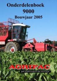 inhoud onderdelenboek 9000 2005