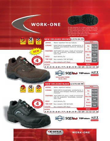 Cofra Work One Outdoor Boots - Tryall Inc