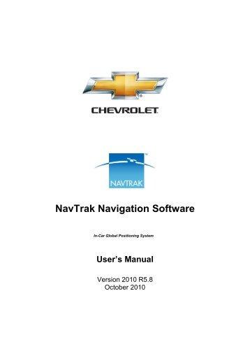 NavTrak GPS Navigation - Alpine Motors