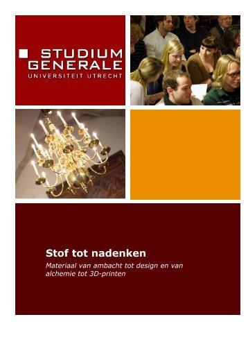 downloaden - Studium Generale Universiteit Utrecht
