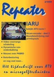 Download Vol.3 issue 2 - Repeater, tijdschrift voor ATV en ...