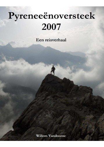 Verslag Pyreneeënoversteek 2007 - Get a Free Blog