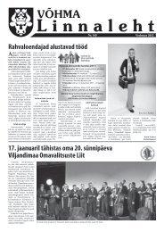 Veebruar 2012 - Võhma