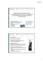 Besteuerung der vermieteten Immobilie - Goldmann Consulting GmbH