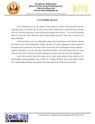 proposal GONG 2011 - hima esp fe unpad - Universitas Padjadjaran