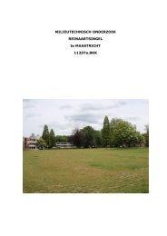 VERKENNEND BODEMONDERZOEK - Gemeente Maastricht