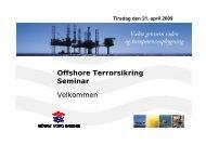 OCD's presentation welcome - Offshore Center Danmark