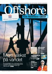 FOR FREMTIDIG VÆKST - Offshore Center Danmark