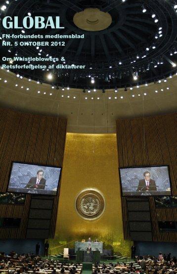 nr. 5 oktober 2012 - FN-forbundet