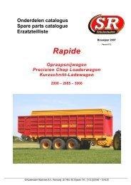 (2007) Download Rapide 2000, 2085, 3000 - Schuitemaker