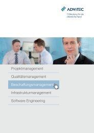 Beschaffungsmanagement - ADVITEC Informatik GmbH