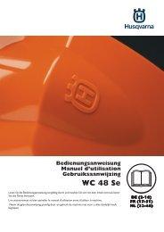 OM, WC 48 Se, 2013-02, DE, FR, NL, Lawn Mower - Husqvarna