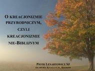 Prima lectio - levis et brevis! - Piotr Lenartowicz SJ