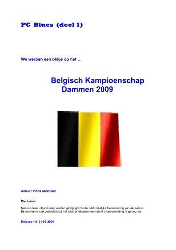 Belgisch Kampioenschap Dammen 2009