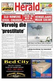 Ludwig-moordenaar kry lewenslank - Letaba Herald