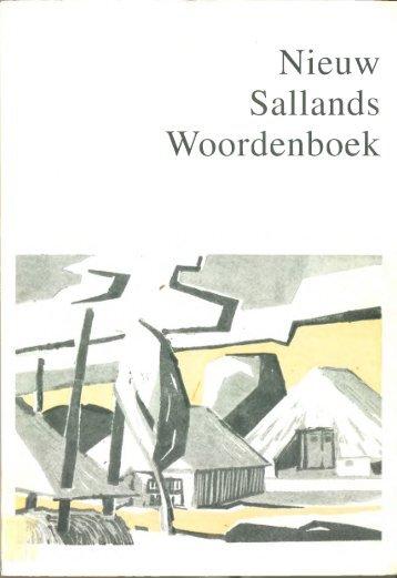 Nieuw Sallands Woordenboek - De Taal van Overijssel