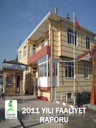 2011 Faaliyet Raporu - Akşehir Ticaret Borsası