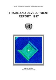 TRADE AND DEVELOPMENT REPORT, 1997 - Unctad