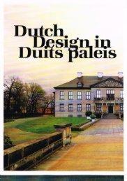 Dutch design in Duits paleis - Barbara Broekman