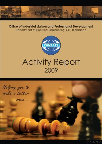 Download Activity Report 2009 - COMSATS Institute of Information ...