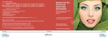 Invitatie Personala Maraton de Estetica Dentara ... - Dental Target