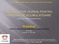 INCARCATOR (SURSA) PENTRU BATERIA DE ACUMULATOARE