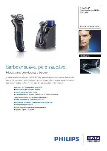 HS8460/25 Philips Máquina de barbear NIVEA FOR MEN