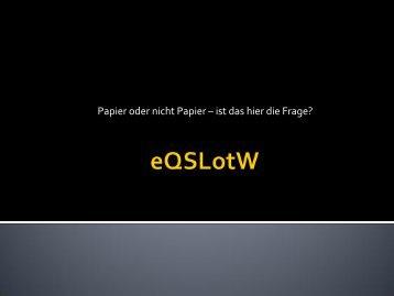 Papier oder nicht Papier – ist das hier die Frage? - ADL 601