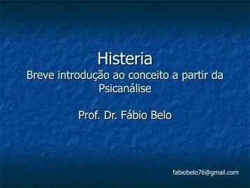 Histeria - Fábio Belo