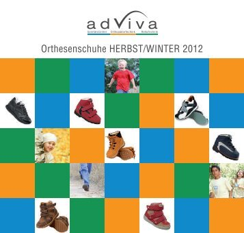 Orthesenschuhe HERBST/WINTER 2012 - Adviva